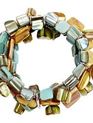 De Shell kralen armband