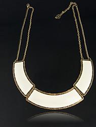Evbea Frauen Einfache Übertreibung Halskette (ENK-00010 Schirm-Farbe)