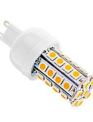 5W G9 Lâmpadas Espiga T 36 SMD 5050 480 lm Branco Quente AC 220-240 V