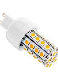 5W G9 Ampoules Maïs LED T 36 SMD 5050 480 lm Blanc Chaud AC 100-240 V