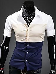 Men's T-Shirts , Cotton Blend OTS