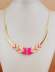 Canlyn Sweater Pink Necklace