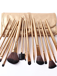 Colors Advance Fiber 15 PCS Set Cosmetic Brushes