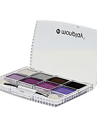 Magique de charme 8 Couleur Eye Shadow Compact (N ° 3 de couleur)