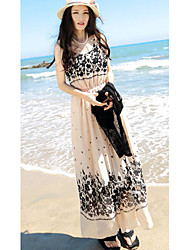 Women's Dresses , Chiffon Casual MQ