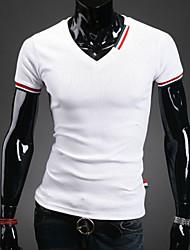 Magro Moda T-shirt dos homens