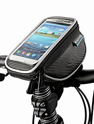 ROSWHEEL® Bike Bag 1.5LCell Phone Bag / Bike Handlebar Bag Dust Proof / Shockproof / Touch Screen Bicycle Bag PU Leather / Polyester / PVC