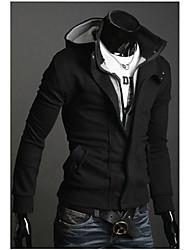 Kingdom Men's Hoodie Two Piece Like Coats