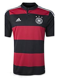 Copa do Mundo 2014 copa do mundo alemanha jerseys jogo visitar preto vermelho (climacool)