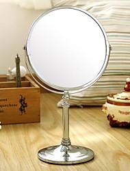 Orange ® 1Pcs table de maquillage miroir rond Dressing Miroir D17 * Bas W12 * H 32CM