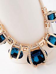 Pengchen Crystal Diamond Short Necklace