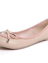 Кожаные женские плоский каблук Комфорт Квартиры обувь (больше цветов)