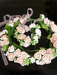 Mode Bloemen Krans sieraden set (Inclusief hoofdband, armband)