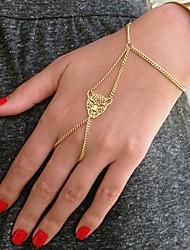 shixin® padrão cabeça moda leopardo liga de ouro pulseira de charme (1 pc)