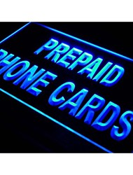 I878 Prepaid Phone Card Shop Mobile Neon Light Sign