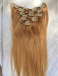 20inch 7Piece Elke set 18 Kleur clip Hair Extension