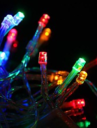 30 LED Battery Powered Multi-couleur cordes Guirlande lumineuse pour la fête de Noël (3xAA)