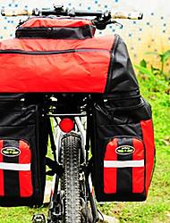 fjqxz spate sac coș biciclete capacitate 70L mare impermeabil poliester 600D roșu sac biciclete / biciclete