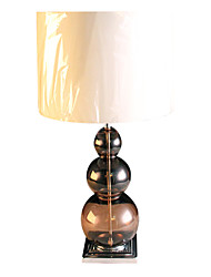 Modern Minimalist Table Lamp Black Glass Lampstand