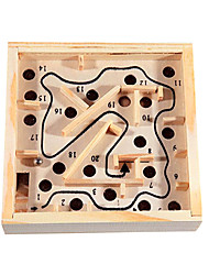 Дети качалка и перекатывание шаров деревянная игра Maze Баланс Упражнение Развивающие игрушки