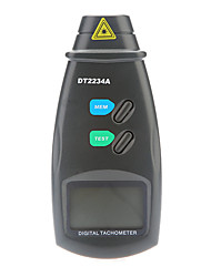 Professional Digital Laser Photo Non-Contact Tachometer RPM Tach Gauge (2.5~99999 RPM, 0.1RPM)