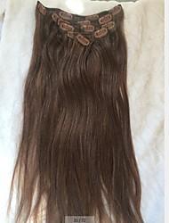 16inch 34 Kleur 7Piece Elke set clip Hair Extension