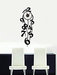 Still Life Criativo Digital Clock Wall Stickers