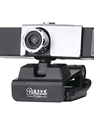BLUELOVER T3200 Webcam with Microphone to Avoid Flooding Webcam HD Computer USB Video Head