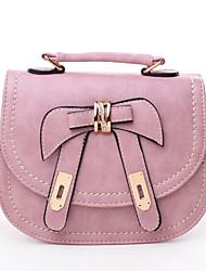 Yandu Korean Style Vintage Bow Versier Tote / Crossbody zak (Pink)