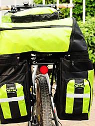 FJQXZ Polyester 600D 70L grande capacité imperméable à l'eau l'herbe verte Vélo / Sacoche