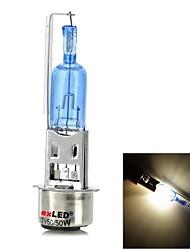 exLED Moto Peças Sintonia Duplo Garra H4 50W 3800lm quente branco lâmpada Xenon Lamp - (12V)