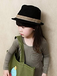 Girl's Summer Straw Fashion Linen Hat
