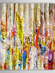 IARTS®Hand Painted Oil Painting Abstract  Jungle with Stretched Frame