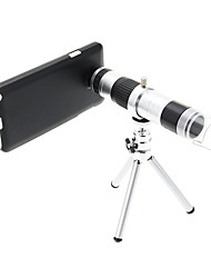 16X Telephoto Metal and 220X Microscope Cellphone Lens with Tripod for Samsung Note3