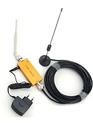 Mini W-CDMA 2100MHz Mobile Phone 3G Signal Booster , W-CDMA 3G Signal Repeater + Omni Antenna + Sucker Antenna with 10m Cable