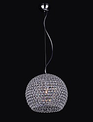 Hemispherical Metal Frame  K9 Crystal Chandelier