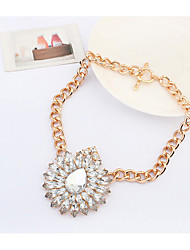 CMY Women's Fashion New Delicate Rose Joker Necklace QZ10262