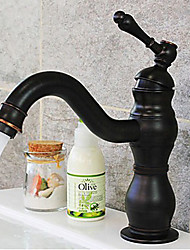 Bathroom Sink Faucets Antique Brass Oil-rubbed Bronze