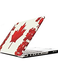 ENKAY The Maple Leaf Pattern Protective Polycarbonate Full Body Case for MacBook Pro