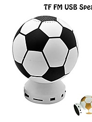 Mini Football Shape TF/FM/USB Rechargeable Music stereo Speaker