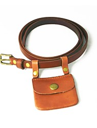 Women Waist Belt,Vintage / Party / Casual Leather All Seasons