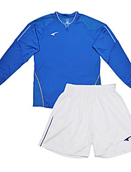 Men's Soccer Long Sleeve Suits(Blue & White/Italy)