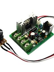 Jtron 12V / 24V / 30V 120W contrôleur PWM DC / CCM5 contrôleur de vitesse du moteur w / fusibles