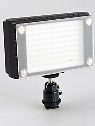 WanSen 96 96 video luce Lampada LED 7W 900LX dimmerabile per Canon Nikon Pentax DSLR