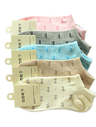 Coton Sport Chaussettes femmes (5 paires, One-Size EUR36-39)