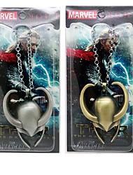 Thor The Dark World Loki Helmet  Necklace Movie Cosplay Accessory