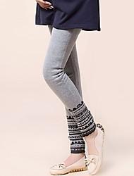 'S Collant Mamma Stampato maternità caricare Facile Plus Size Pants