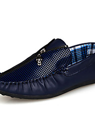 Wayaly Business Casual Shoes Peas Breathable (White,Black,Blue)