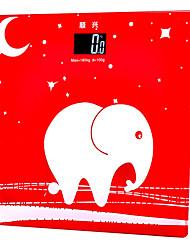 Lindo Elefante medição Precisão Corpo Digital Pesando Cuidados Pessoais Scale