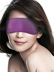 Deux PCS Double-Sided Masques soie transparente yeux (couleur aléatoire)